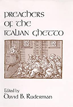 Preachers of the Italian Ghetto 9780520077355