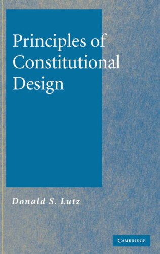 Principles of Constitutional Design 9780521861687