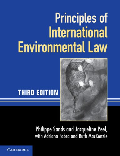 Principles of International Environmental Law 9780521140935