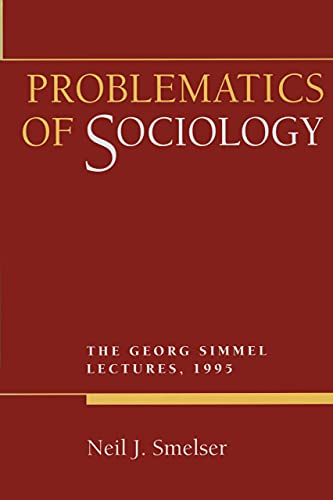 Problematics of Sociology: George Simmel Lectures 1995 9780520206755