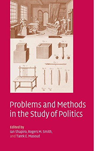 Problems and Methods in the Study of Politics 9780521539432