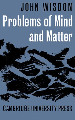 Problems of Mind and Matter 9780521091978