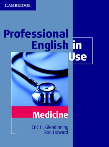 Professional English in Use: Medicine 9780521682015