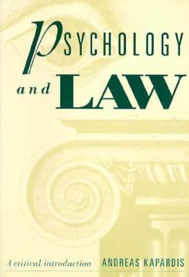 Psychology and Law: A Critical Introduction 9780521557382