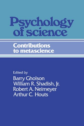 Psychology of Science 9780521354103