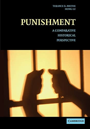 Punishment: A Comparative Historical Perspective 9780521605168