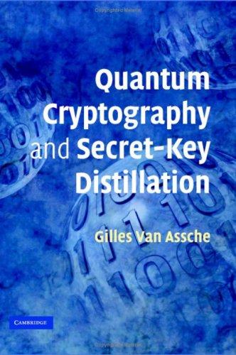 Quantum Cryptography and Secret-Key Distillation 9780521864855