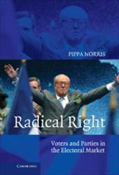 Radical Right: Voters and Parties in the Electoral Market 1782466