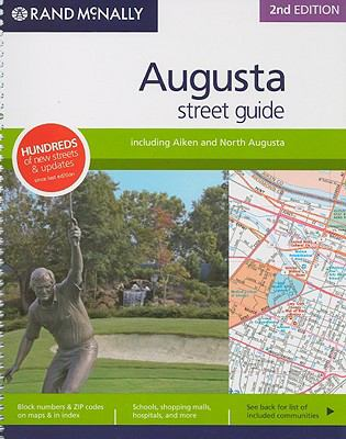 Rand McNally Augusta Street Guide: Including Aiken and North Augusta 9780528859847