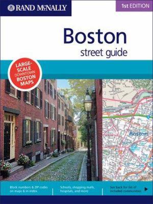 Rand McNally Boston Street Guide 9780528859922