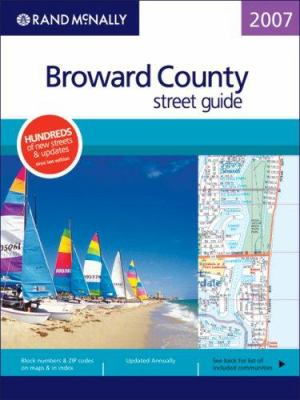 Rand McNally Broward County Street Guide 9780528859465