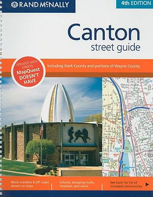 Rand McNally Canton Street Guide: Including Stark County and Portions of Wayne County 9780528872853