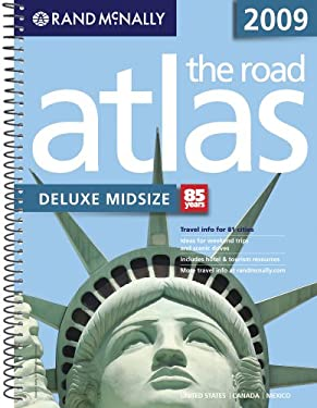 Rand McNally Deluxe Midsize Road Atlas 9780528942075
