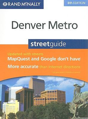 Rand McNally Denver Metro Streetguide 9780528874420