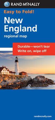 Rand McNally Easy to Fold! New England Regional Map 9780528998386
