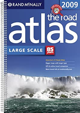 Rand McNally Large Scale United States Road Atlas 9780528942105