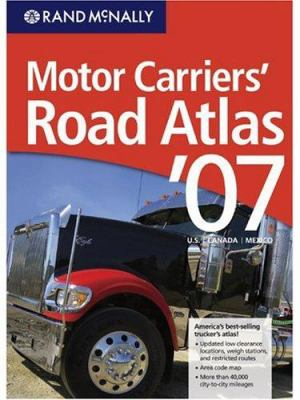 Rand McNally Motor Carriers Road Atlas 9780528900778