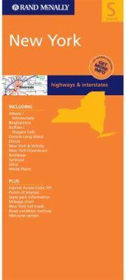 Rand McNally New York Highways & Interstates: State 9780528994838