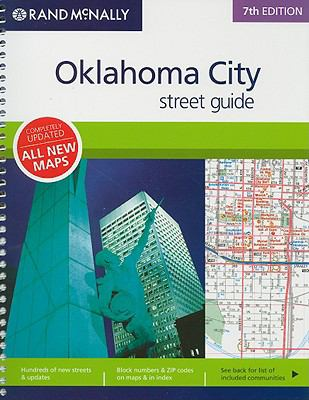 Rand McNally Oklahoma City Street Guide 9780528859830