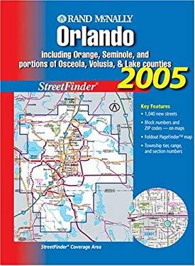 Rand McNally Orlando Streetfinder: Including Orange, Seminole, and Portions of Osceola, Volusia, & Lake Counties 9780528994494