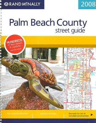 Rand McNally Palm Beach County Street Guide 9780528860553
