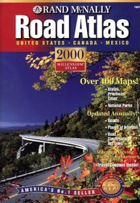 Rand McNally Road Atlas: United States, Canada, Mexico 9780528841255