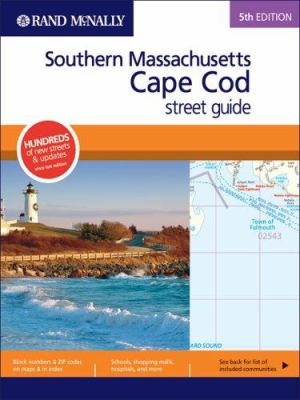 Rand McNally Southern Massachusetts/Cape Cod Street Guide 9780528855740