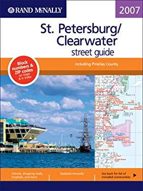 Rand McNally St. Petersburg/Clearwater Street Guide 9780528859533