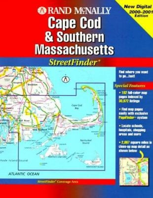 Rand McNally Streetfinder Cape Cod & Southern Masschusetts 9780528979071