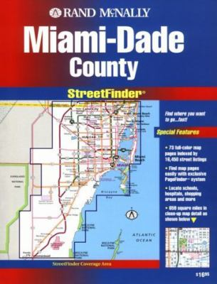 Rand McNally Streetfinder Miami-Dade County 9780528978562