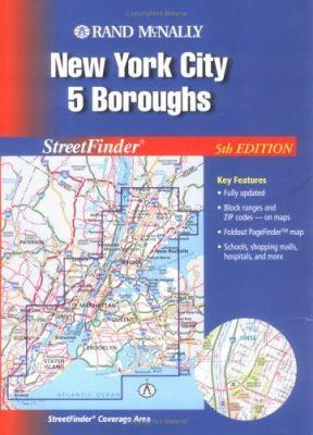 Rand McNally Streetfinder New York City 5 Boroughs 9780528994166