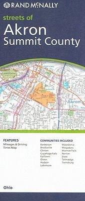 Rand McNally Streets of Akron, Summit County: Ohio 9780528872785