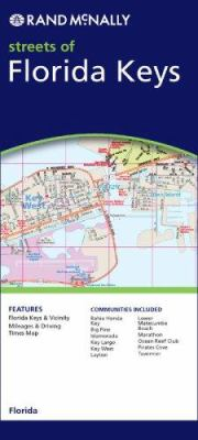 Rand McNally Streets of Florida Keys 9780528870200
