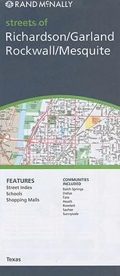 Rand McNally Streets of Richardson/Garland/Rockwall/Mesquite 9780528873171