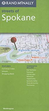 Rand McNally Streets of Spokane: Washington 9780528880544