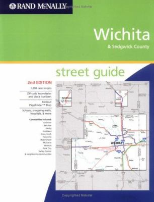 Rand McNally Wichita Street Guide: & Sedgwick County 9780528855849