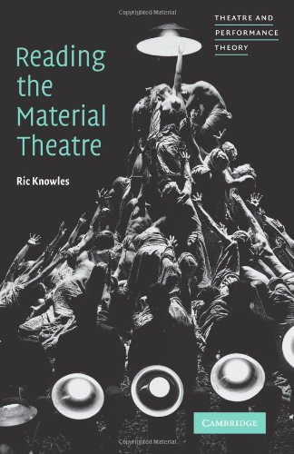 Reading the Material Theatre 9780521644167