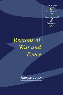 Regions of War and Peace 9780521809856