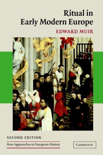Ritual in Early Modern Europe 9780521841535