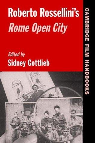 Roberto Rossellini's Rome Open City 9780521545198