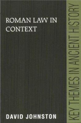 Roman Law in Context 9780521639613