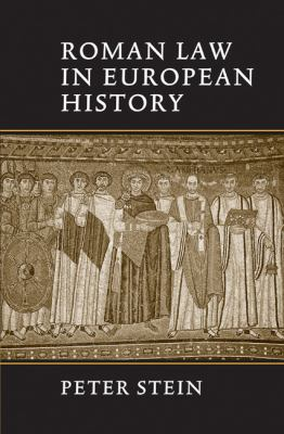 Roman Law in European History 9780521643795