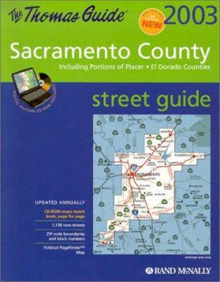 Sacramento County: Includes Portions of Placer, El Dorado Counties [With CD] 9780528956713