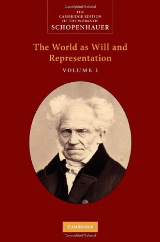 The World as Will and Representation, Volume 1 9780521871846