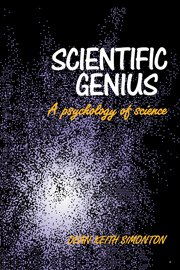 Scientific Genius: A Psychology of Science 9780521352871