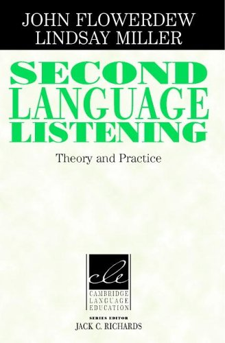 Second Language Listening: Theory and Practice 9780521786478