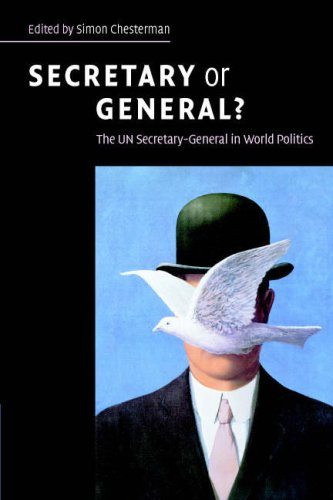 Secretary or General?: The Un Secretary-General in World Politics 9780521699587