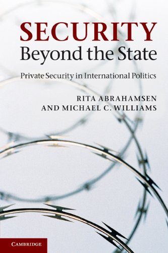 Security Beyond the State: Private Security in International Politics 9780521154253
