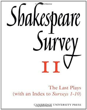 Shakespeare Survey with Index 1-10 9780521523479