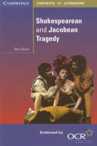 Shakespearean and Jacobean Tragedy 9780521795623